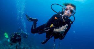 Open warter | Amazing Dive